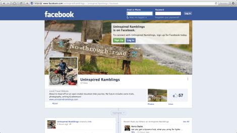 (Un)Inspired Ramblings on Facebook